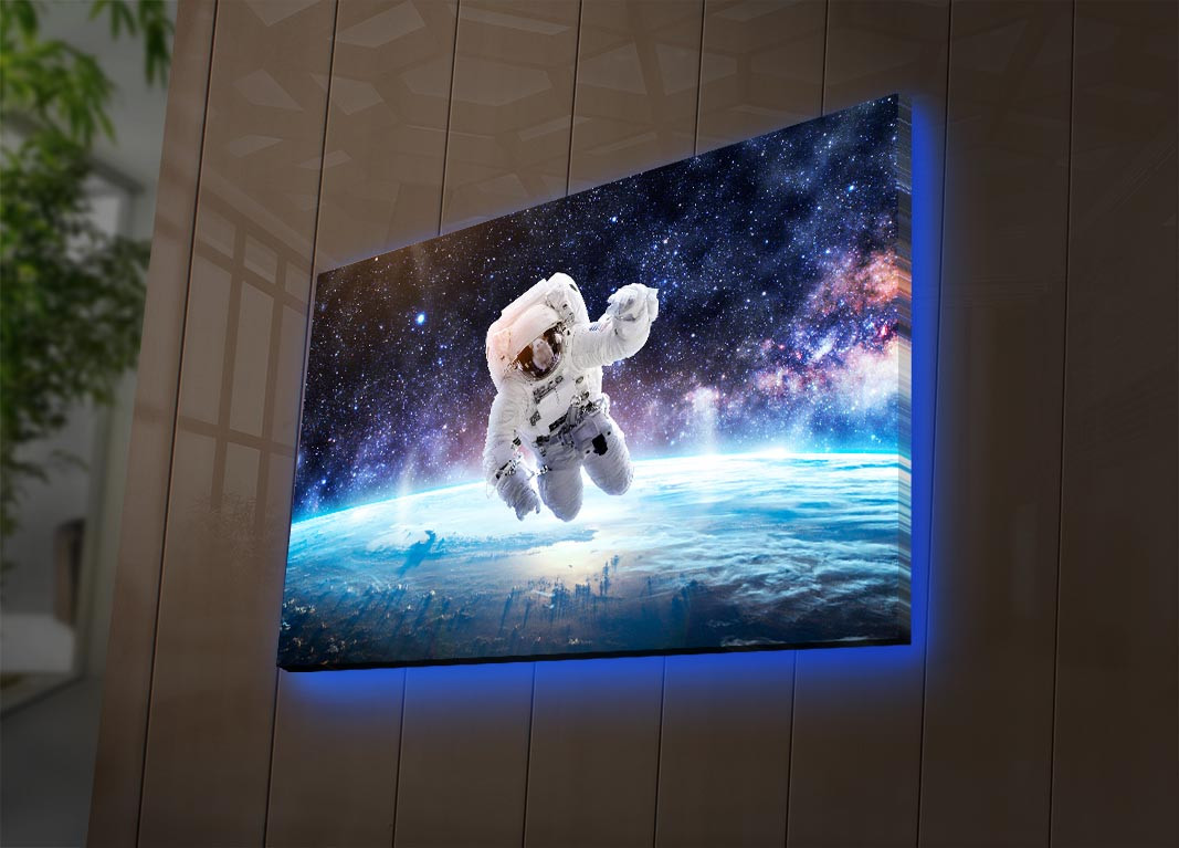 ABD-005 Decorative Led Lighted Canvas Painting 239SHN4306 - Multicolor