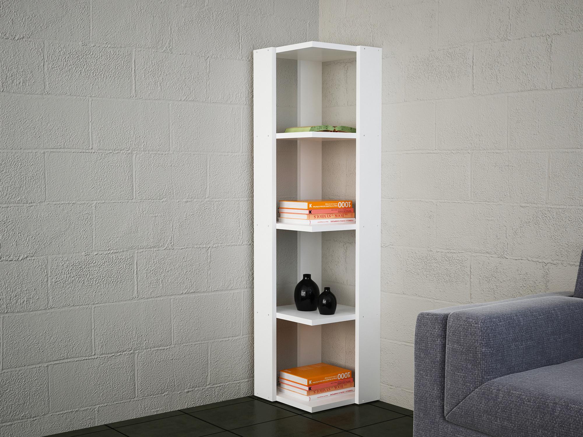 Venita White Bookshelf 756frn3611