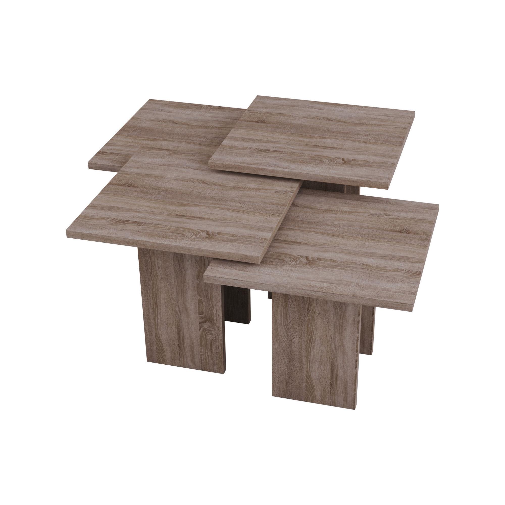 Grade Dark Oak Coffee Table